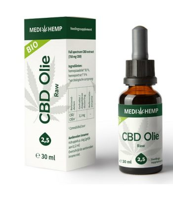 CBD oil Medihemp raw 30 ml 750 mg CBD