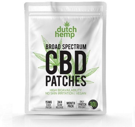 Dutch Hemp CBD-patches 450 mg CBD