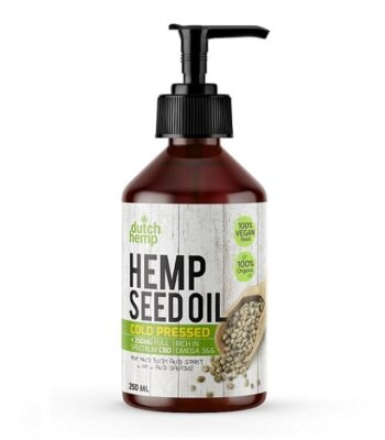 Hemp seed oil Plus CBD Dutch Hemp 250 ml 250 mg CBD
